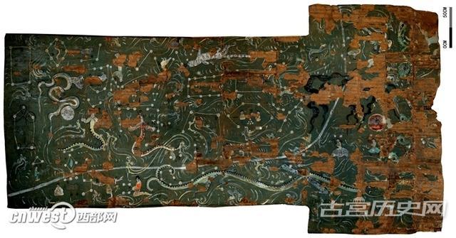 陕西榆林汉墓发现二十八星宿图 系目前最完整一幅
