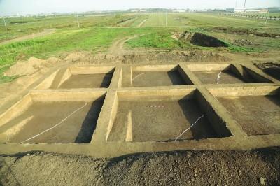 """60万个探孔""""锁定""""昆明池面积 迄今规模最大汉唐水利工程考古披露最新成果"""