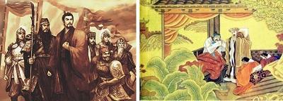 刘备临终写给阿斗的八个字,到底是哪些字