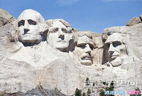 美国总统山在哪里