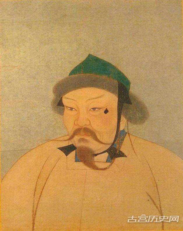 老照片:元朝皇帝画像全集