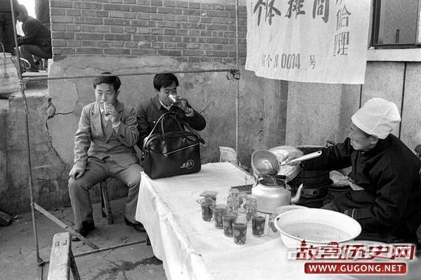 北京老照片:1986年北京前门老照片