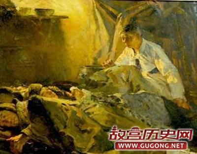 朝鲜画家笔下的中国人民志愿军
