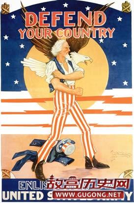 美国二战时期的海报