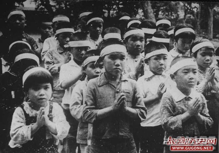 1945年日本侵略者的末日影像