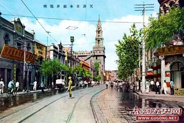 天津老照片:民国时期的天津 老明信片