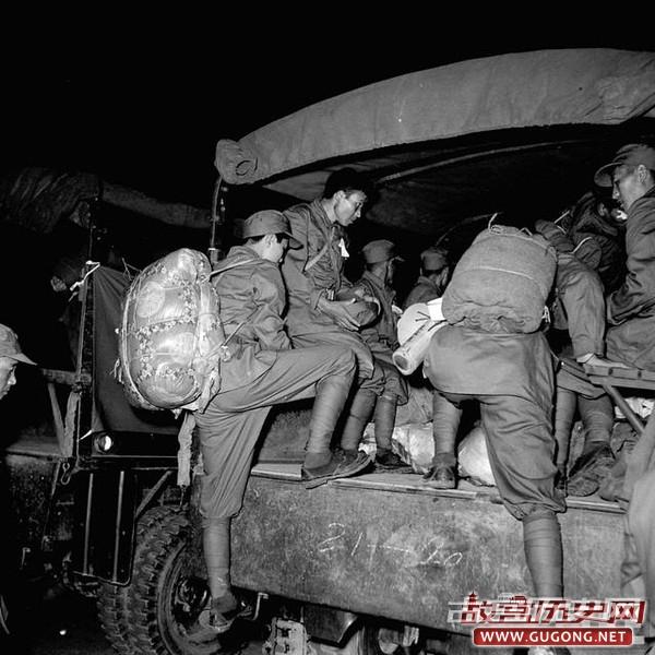 国军老照片:国军撤离缅甸 1953年