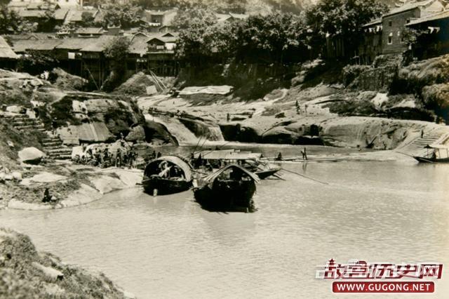 重庆老照片:三国名将甘宁的故乡 1920年代万县
