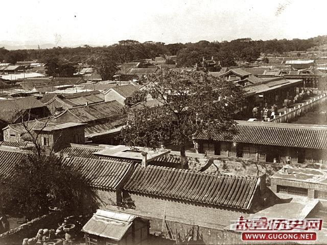 晚清老照片:光绪32年清廷预备立宪 彼时的京城风景