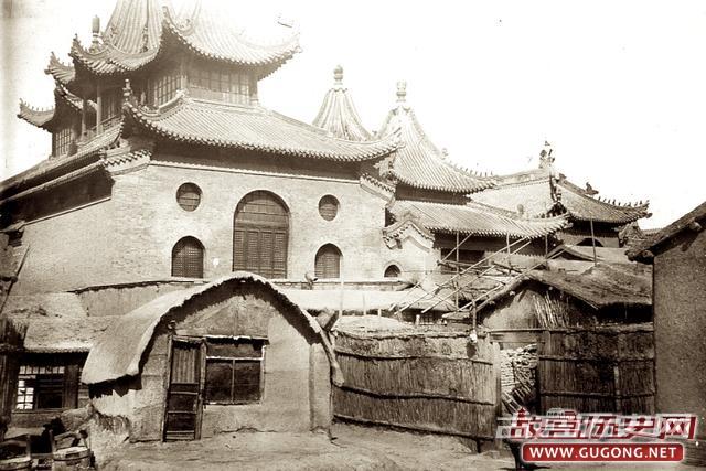 天津老照片:光绪三十二年天津卫 竣工通车的金汤桥