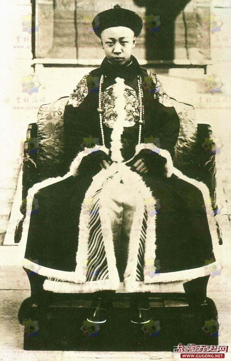 清朝皇帝画像:清朝历代皇帝画像与介绍