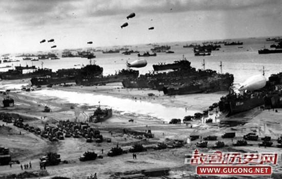 诺曼底登陆战 大规模战略性登陆作战的代表作