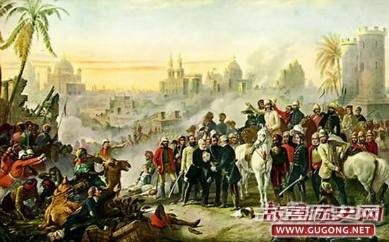 印度民族大起义 变成淹没英国殖民者的滂沱大雨