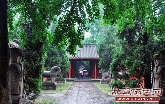刘备究竟被葬在了哪里?