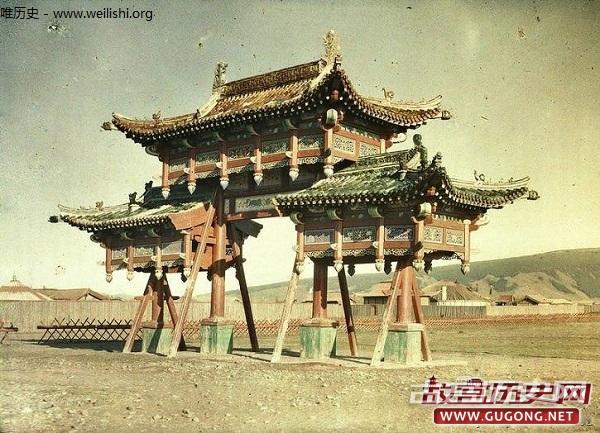 蒙古老照片:百年前极其罕见的蒙古