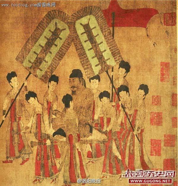 618年6月12日 李渊受禅建立唐朝