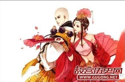 高阳公主与辩机和尚偷情