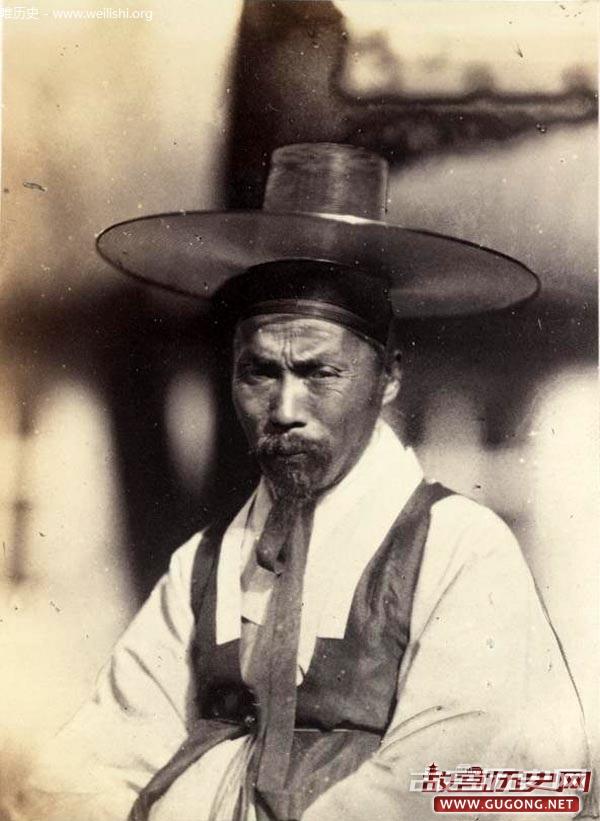 北京老照片:1860年朝鲜人在北京