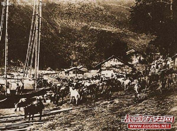 老照片:现存中国最早的珍贵历史照片