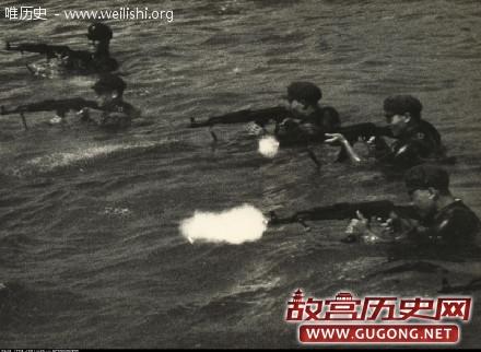 老照片:1970年代解放军训练