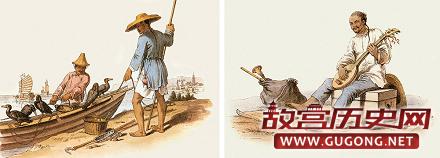 清朝老照片:18世纪英国画家笔下的清朝市民生活(组图)