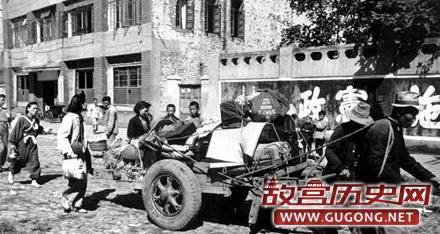 图看日本投降后在中国的日本人