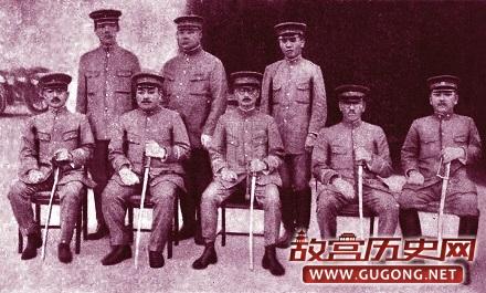 日占时期大连日本警察原始照片