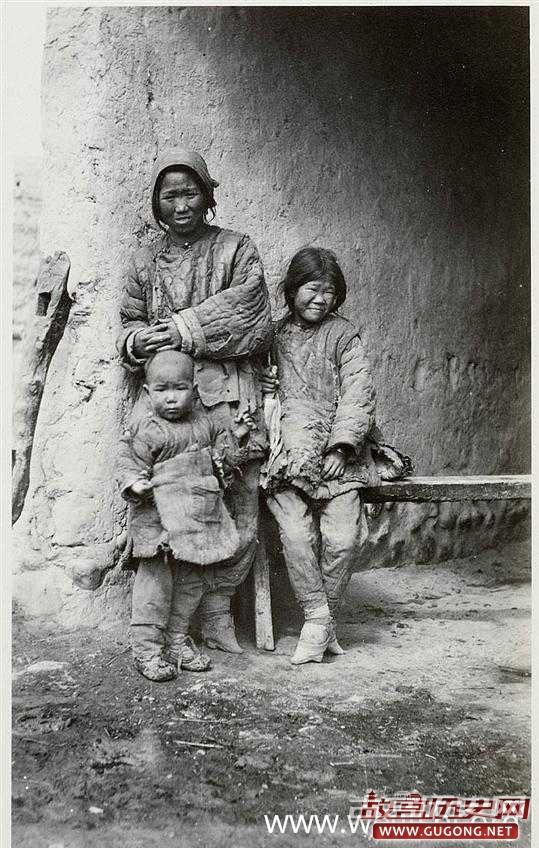 清朝老照片:晚清农村妇女形象