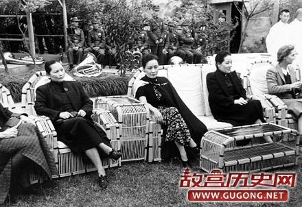 蒋介石无法忍受宋美龄的不良嗜好