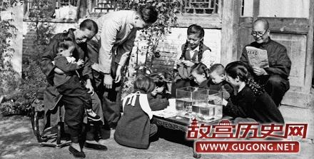 1950年代的老北京简单悠闲的百姓生活