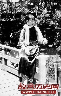 民国老照片:民国时代的八大美丽女星