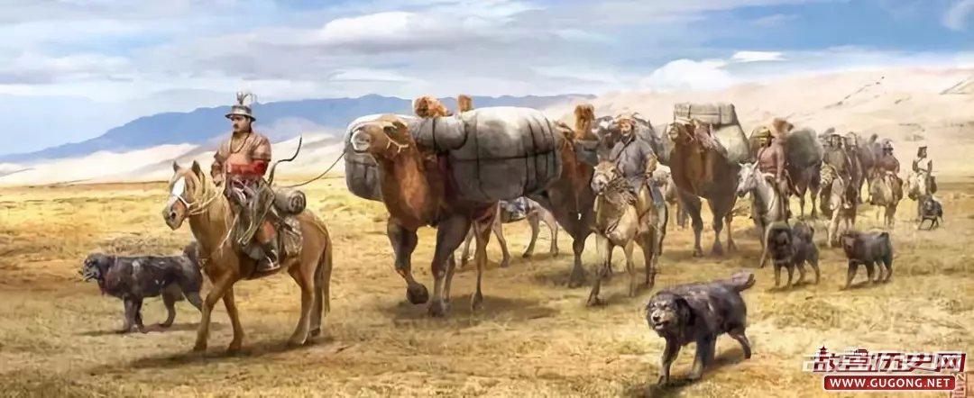 瓦剌人实际上已经控制了明朝西北贸易