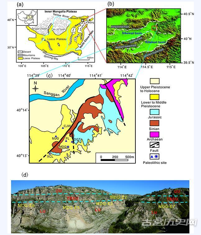 泥河湾盆地百万年前古人类活动再添新证据