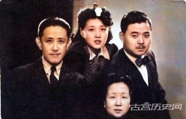 颜值爆表的袁世凯家人老照片,女子仙姿玉貌,男子临风玉树