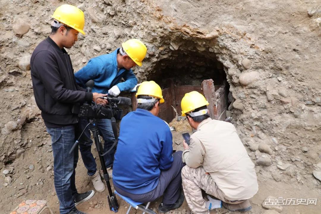 """国家文物局发布四项""""考古中国""""丝绸之路考古重大成果之一:青海乌兰泉沟吐蕃时期壁画墓"""
